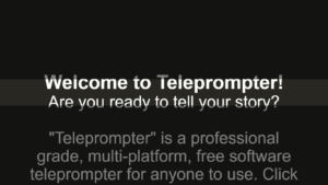 Imaginary Teleprompter screenshot